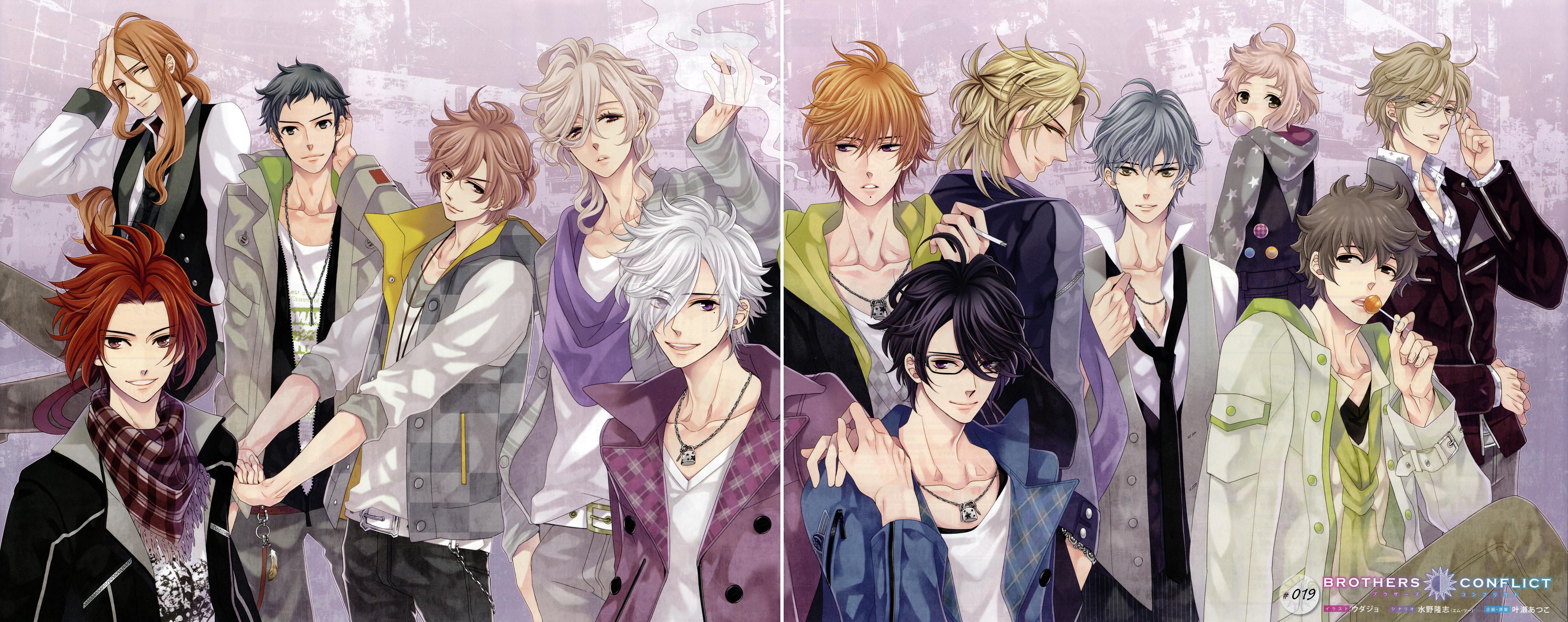 Brothers Conflict Manga Segunda Temporada - Brothers Conflict Anime (seen 1st season)/Manga/games  Anime/Manga Keep  Brothers conflict Manga Art Style