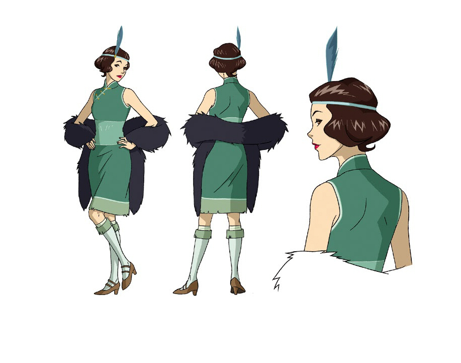 avatar character sheet brownie (avatar - korra) image # - zerochan anime