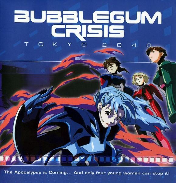 Tags: Anime, Bubblegum Crisis, Nene Romanova, Linna Yamazaki, Priss Asagiri, Sylia Stingray, Hardsuit(Bubblegum Crisis)