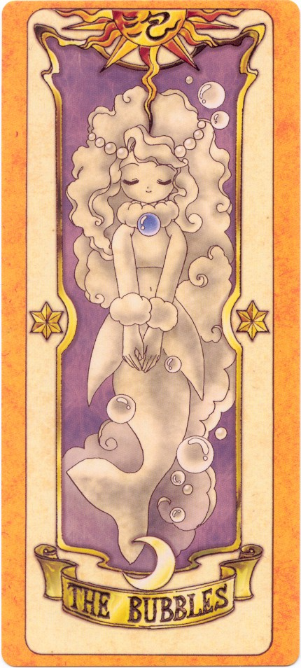 Tags: Anime, Cardcaptor Sakura, Bubbles Card, Clow Cards
