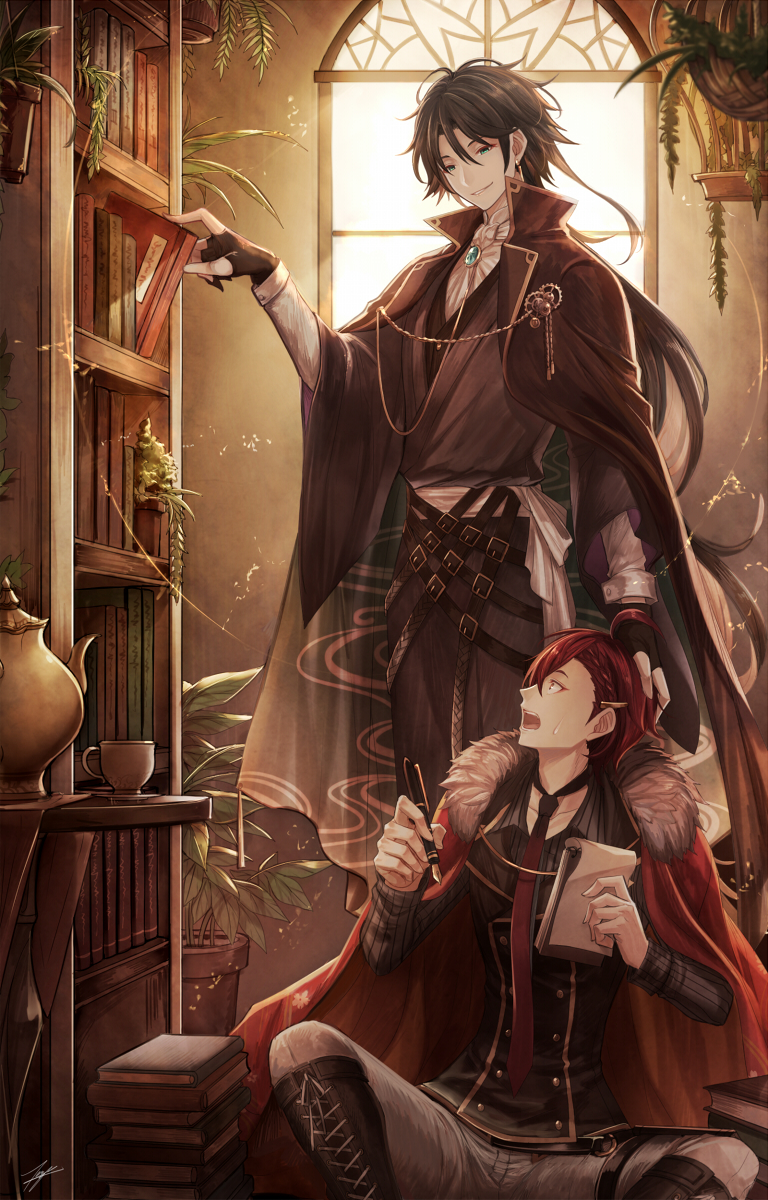 Znalezione obrazy dla zapytania: Bungou to Alchemist: Shinpan no Haguruma