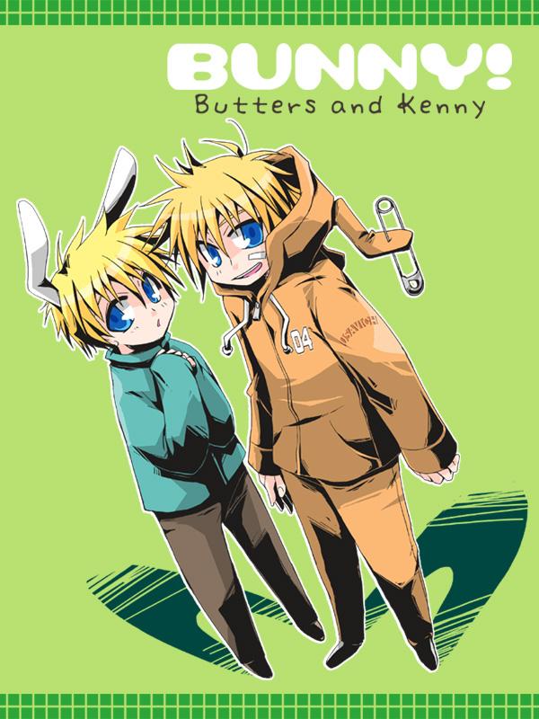Tags: Anime, Sakurapanda, South Park, Leopold Stotch, Kenneth McCormick, Bunny (South Park)