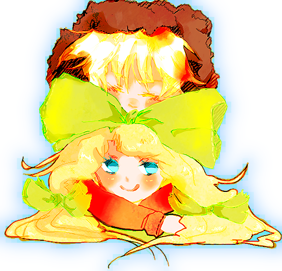Tags: Anime, Pixiv Id 2453836, South Park, Kenneth McCormick, Marjorine, Leopold Stotch, Orange Outerwear, Requested Upload, Fanart From Pixiv, PNG Conversion, Pixiv, Fanart, Bunny (South Park)