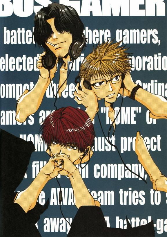 Tags: Anime, Kazuya Minekura, Bus Gamer, Saitou Kazuo, Mishiba Toki, Nakajou Nobuto