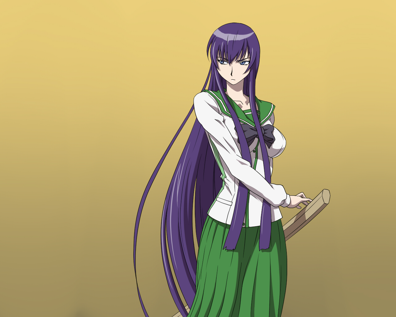 Busujima Saeko Wallpaper