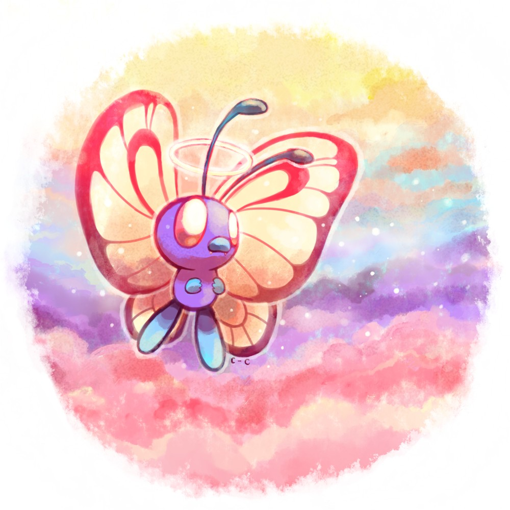 butterfree pokémon zerochan anime image board