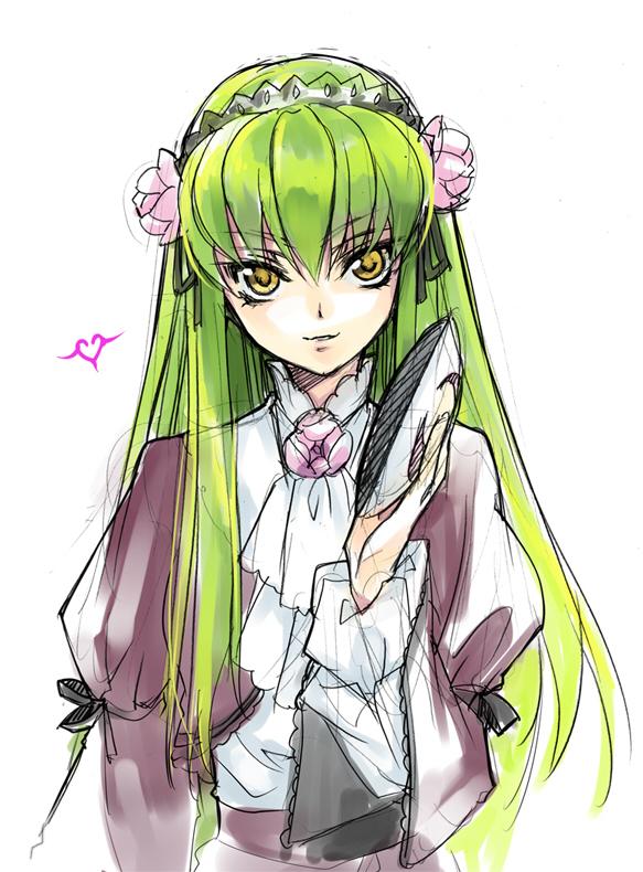 Tags: Anime, Rangetsu, CODE GEASS: Hangyaku no Lelouch, C.C., Gokou Ruri (Cosplay), Fanart, Pixiv