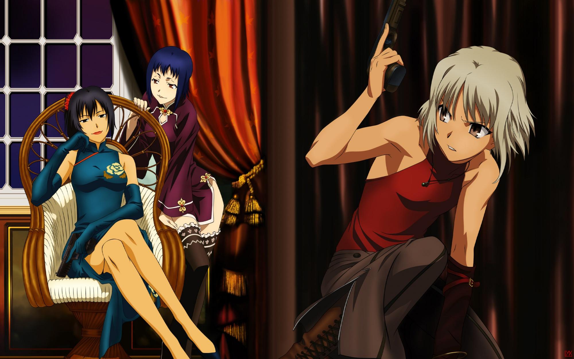 CANAAN HD Wallpaper #263793 - Zerochan Anime Image Board