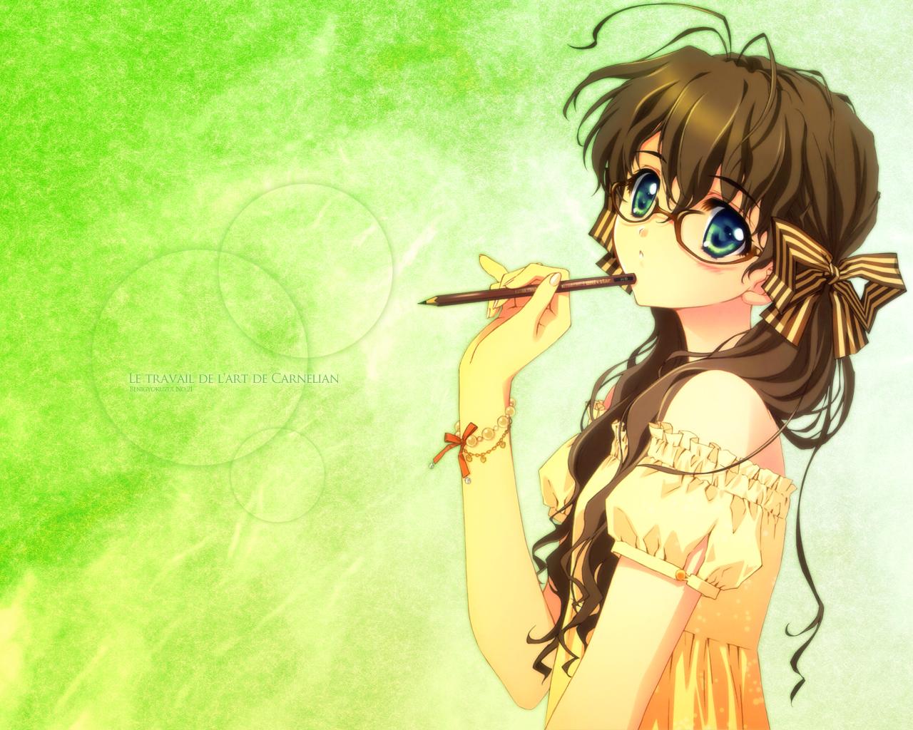 Blue eyes blue eyes brown hair female long hair solo page 37 zerochan anime image board