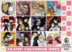 CLAMP 2013 Calendar