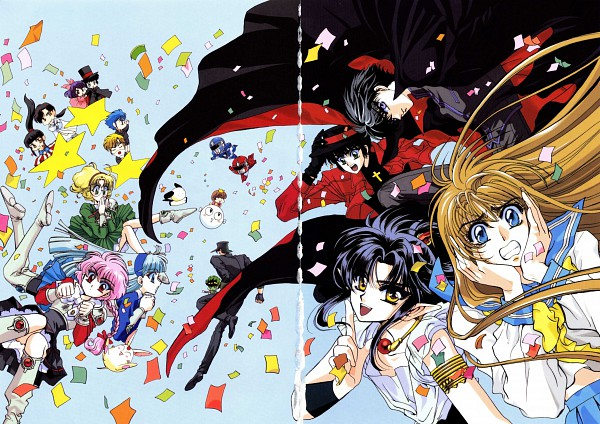 Tags: Anime, CLAMP, Fushigi no Kuni no Miyuki-chan, 20 Mensho ni Onegai!!, RG Veda, CLAMP School Detectives, Legend of Chun Hyang