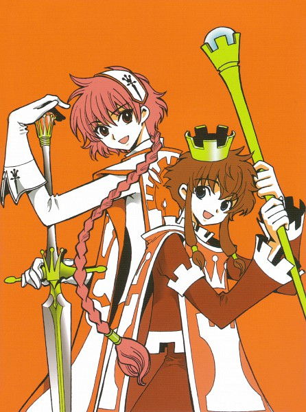 Tags: Anime, CLAMP, CLAMP no Kiseki, Angelic Layer, CLAMP in Wonderland, Magic Knight Rayearth, Shidou Hikaru