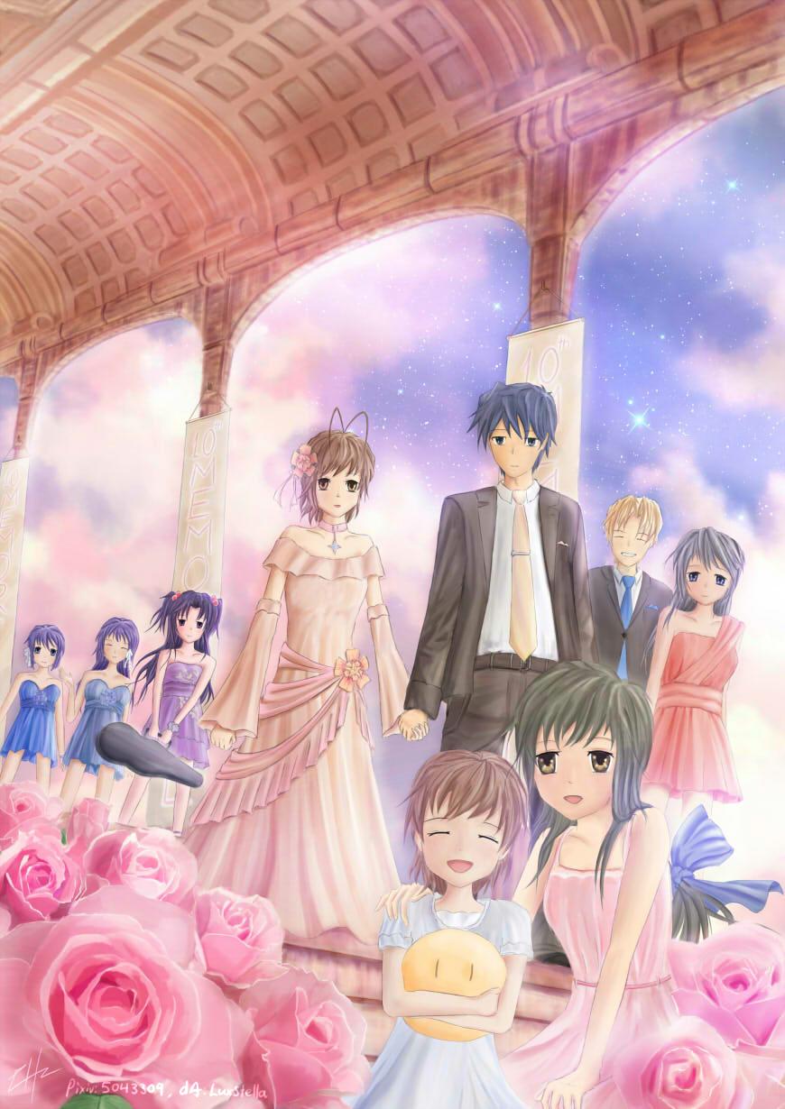 Clannad Image 1568618 Zerochan Anime Image Board