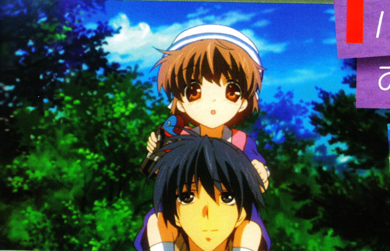 Okazaki Tomoya Okazaki Ushio Page 4 Zerochan Anime Image Board