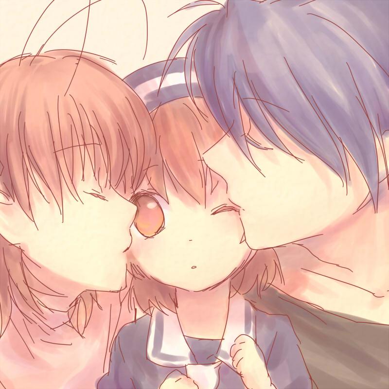 clannad nagisa and tomoya