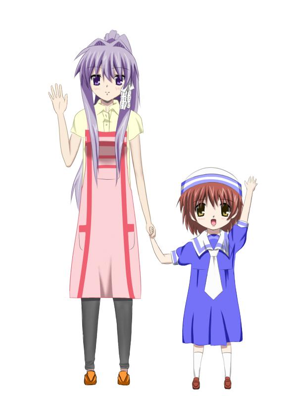 Tags: Anime, Clannad: After Story, CLANNAD, Okazaki Ushio, Fujibayashi Kyou, Artist Request