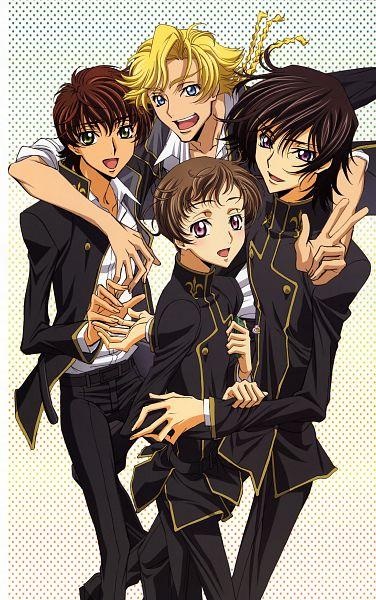 Tags: Anime, Sakou Yukie, Sunrise (Studio), CODE GEASS: Hangyaku no Lelouch, Code Geass - Illustration Relations, Gino Weinberg, Rolo Lamperouge