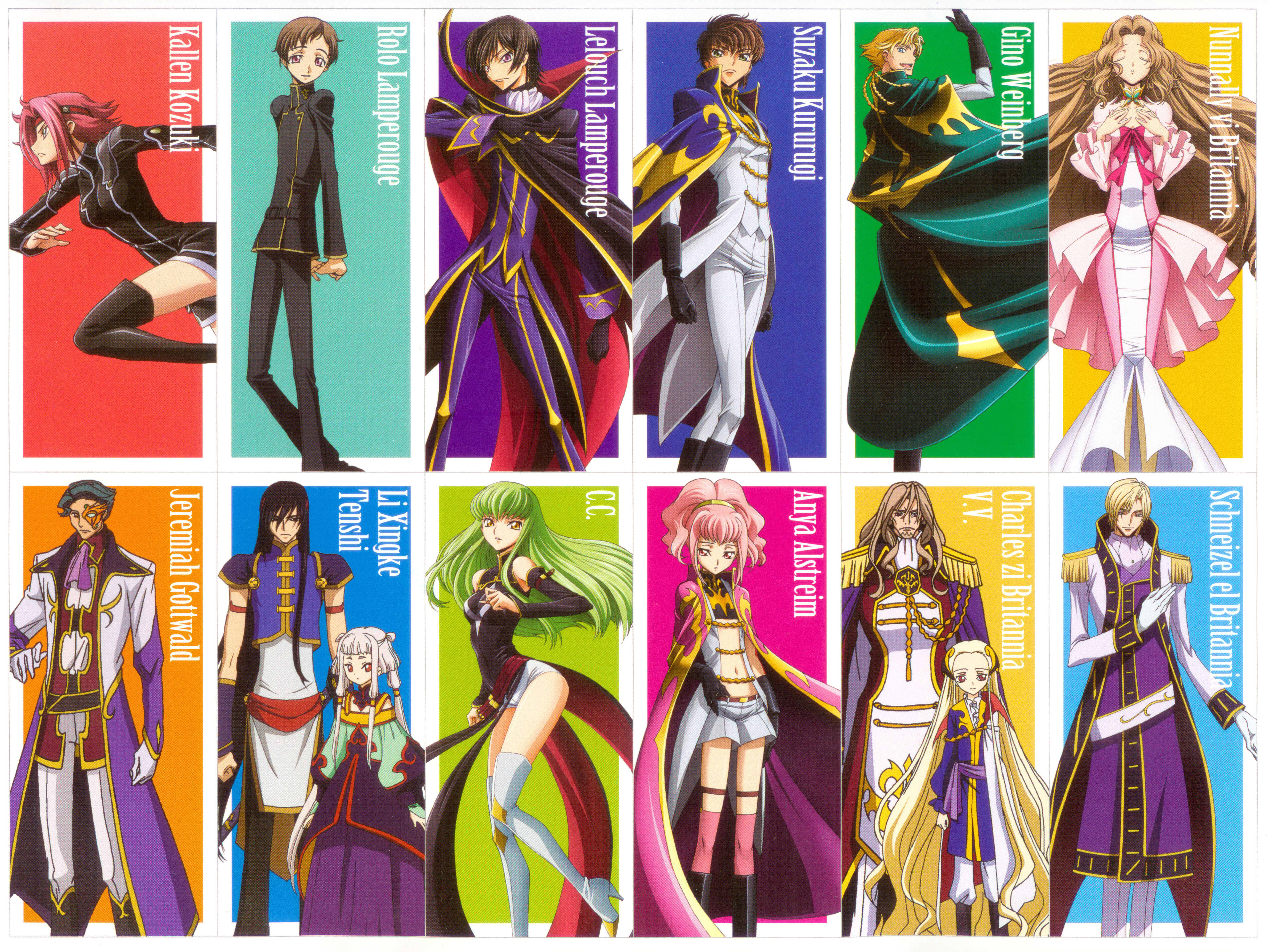 Code Geass Hangyaku No Lelouch Code Geass Lelouch Of The