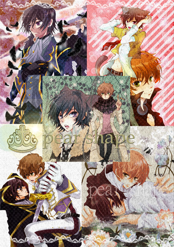 Tags: Anime, CODE GEASS: Hangyaku no Lelouch, Zero (CODE GEASS), Lelouch Lamperouge, Kururugi Suzaku, Artist Request, Suzalulu, Code Geass: Lelouch Of The Rebellion