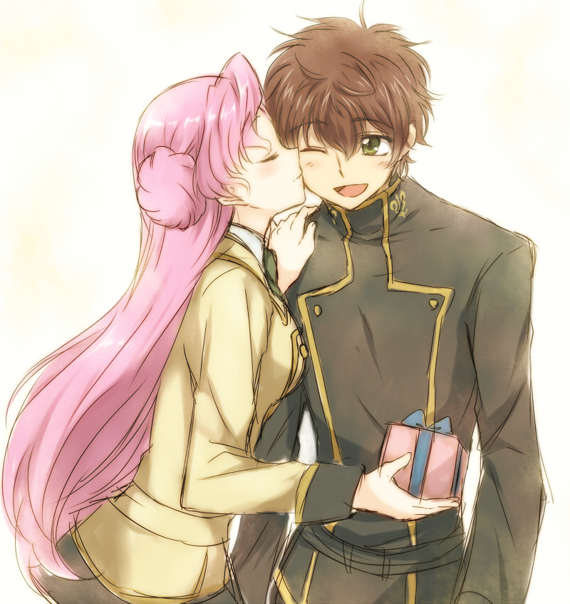 code geass lelouch and suzaku relationship goals