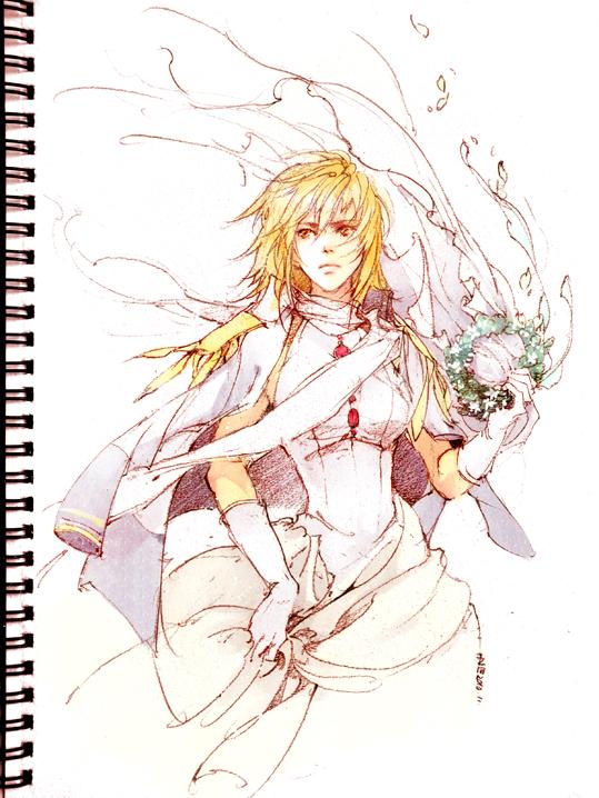 Tags: Anime, Ibuki Satsuki, Mobile Suit Gundam SEED, Cagalli Yula Athha, Traditional Media, Fanart