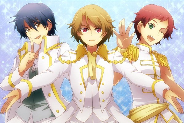 Tags: Anime, Akasata, Pretty Rhythm: Aurora Dream, Callings, Shou (Pretty Rhythm), Hyuuga Wataru, Toudou Hibiki