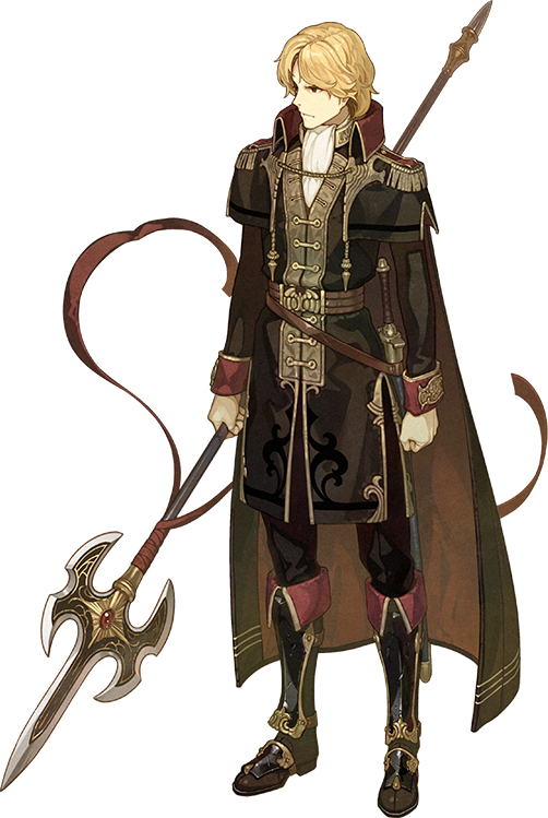 Tags: Anime, Hidari, Intelligent Systems, Fire Emblem Gaiden, Camus (Fire Emblem), Cover Image, PNG Conversion, Mobile Wallpaper, Official Art