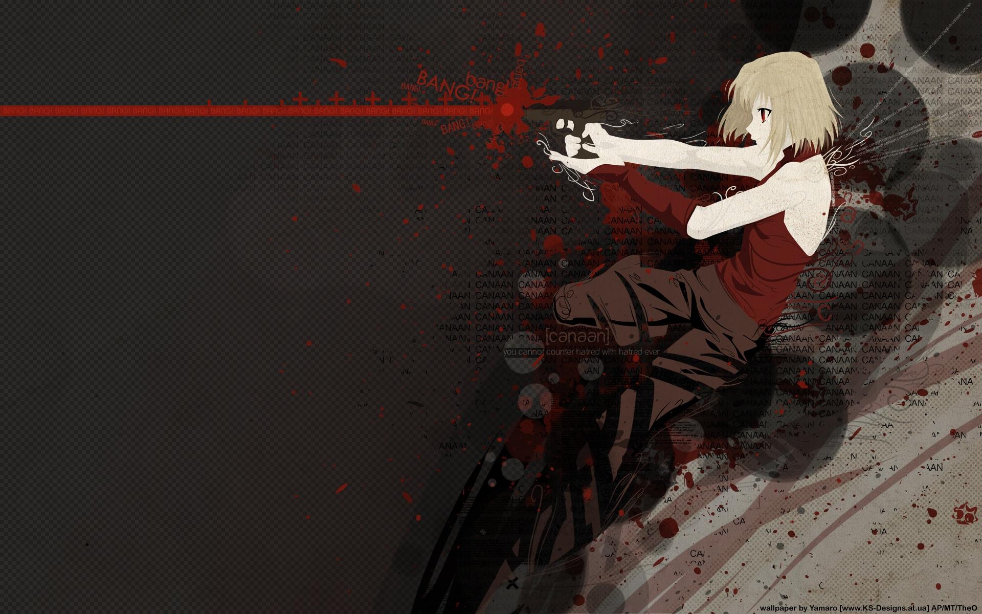 CANAAN, Wallpaper - Zerochan Anime Image Board