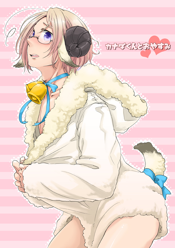 Tags: Anime, Ruuko(ルゥコ), Axis Powers: Hetalia, Canada, Sheep Tail, Pixiv, Mobile Wallpaper, Fanart, Hitsuji de Oyasumi