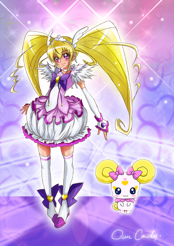 Tags: Anime, Smile Precure!, Cure Candy, Candy (Smile Precure), Fanart, Artist Request