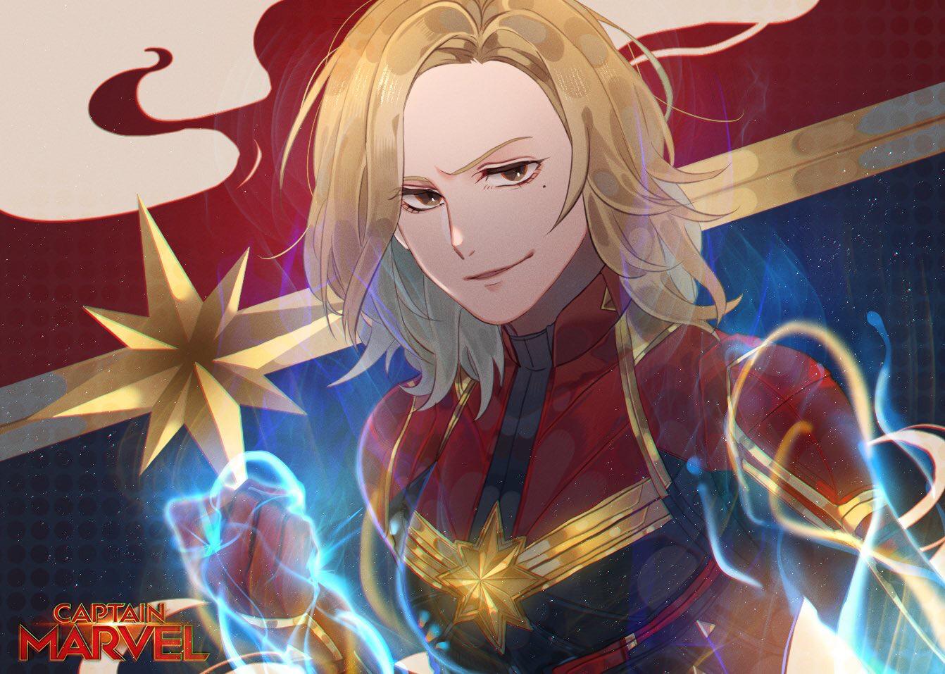 captain marvel - carol danvers - image #2510243 - zerochan anime