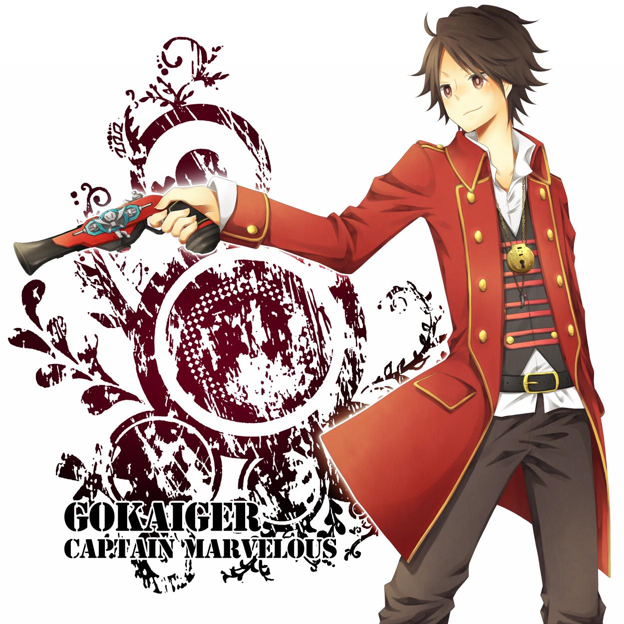 Captain Marvelous - Kaizoku Sentai Gokaiger - Zerochan ...