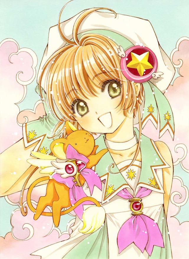 Tags: Anime, CLAMP, Cardcaptor Sakura, Cardcaptor Sakura: Clear Card-hen, Kinomoto Sakura, Kero-chan, Official Art