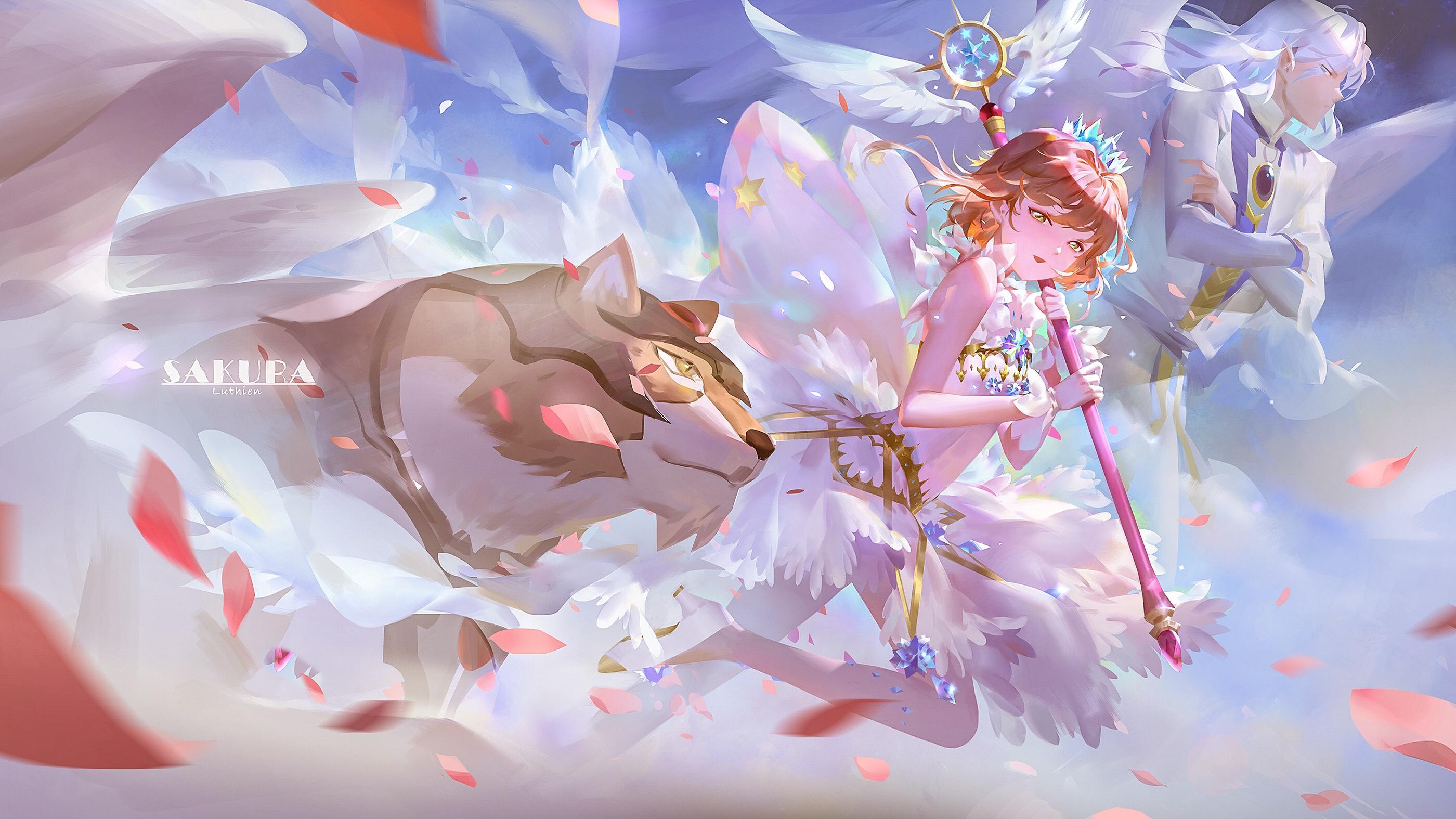 Kerberos fanart zerochan anime image board - Cardcaptor sakura wallpaper ...