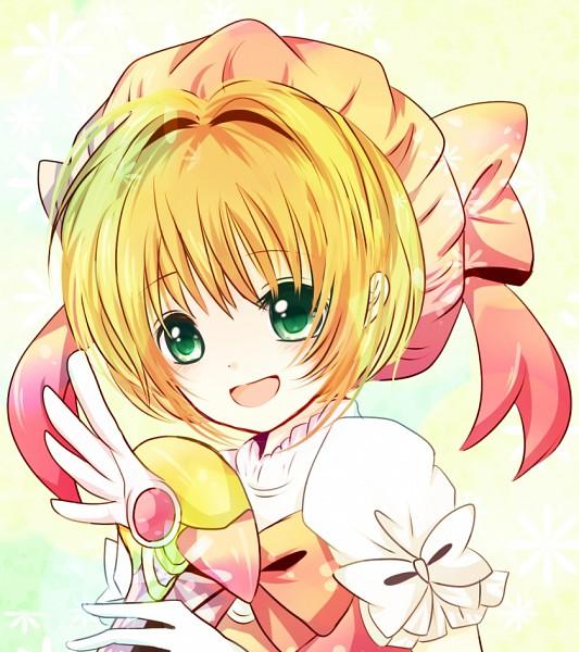Tags: Anime, Cardcaptor Sakura, Kinomoto Sakura, Sealing Wand (Dormant Form), Sealing Wand, Pink Hat, Wand