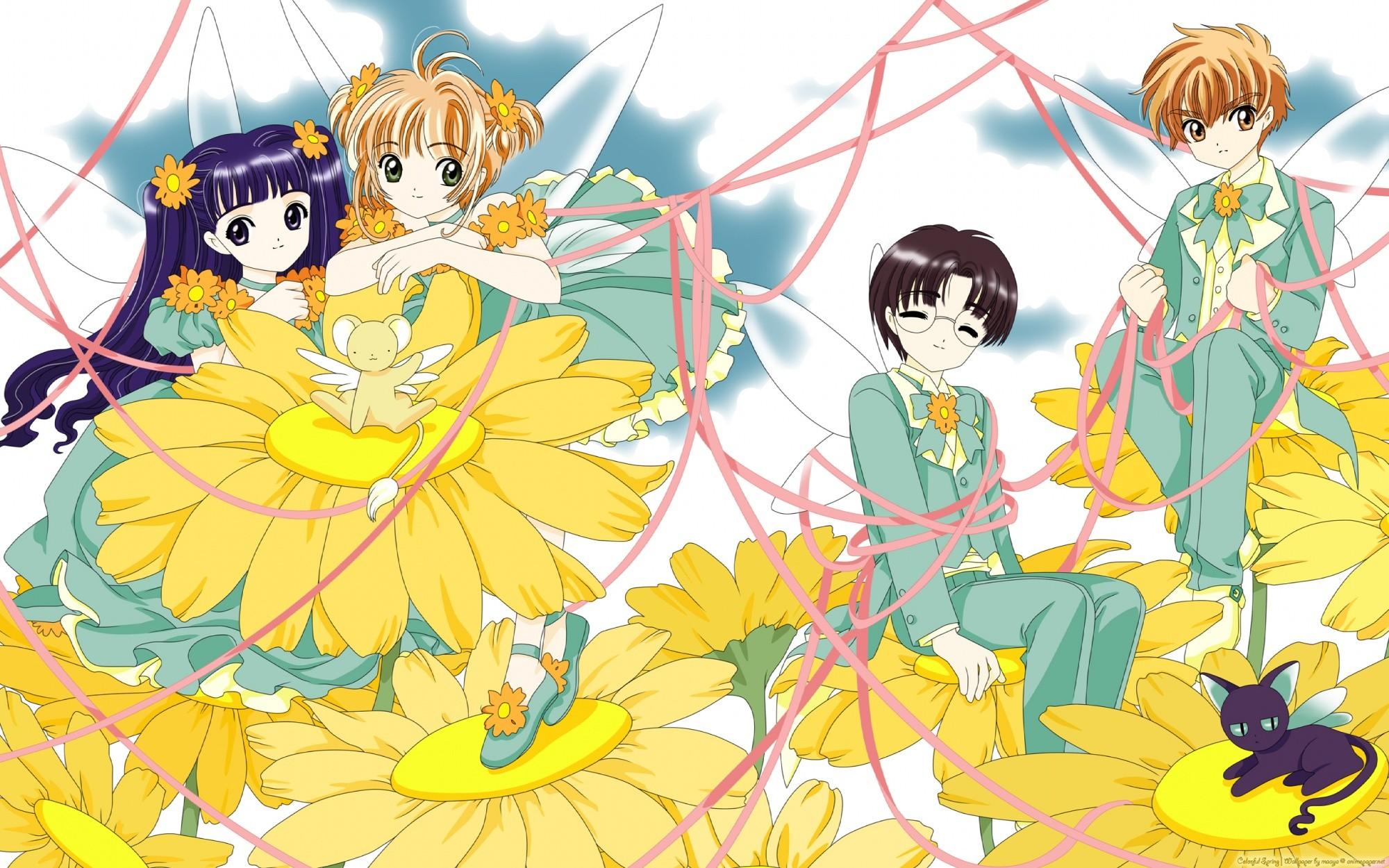 Cardcaptor sakura illustrations collection 2 hd wallpaper - Cardcaptor sakura wallpaper ...