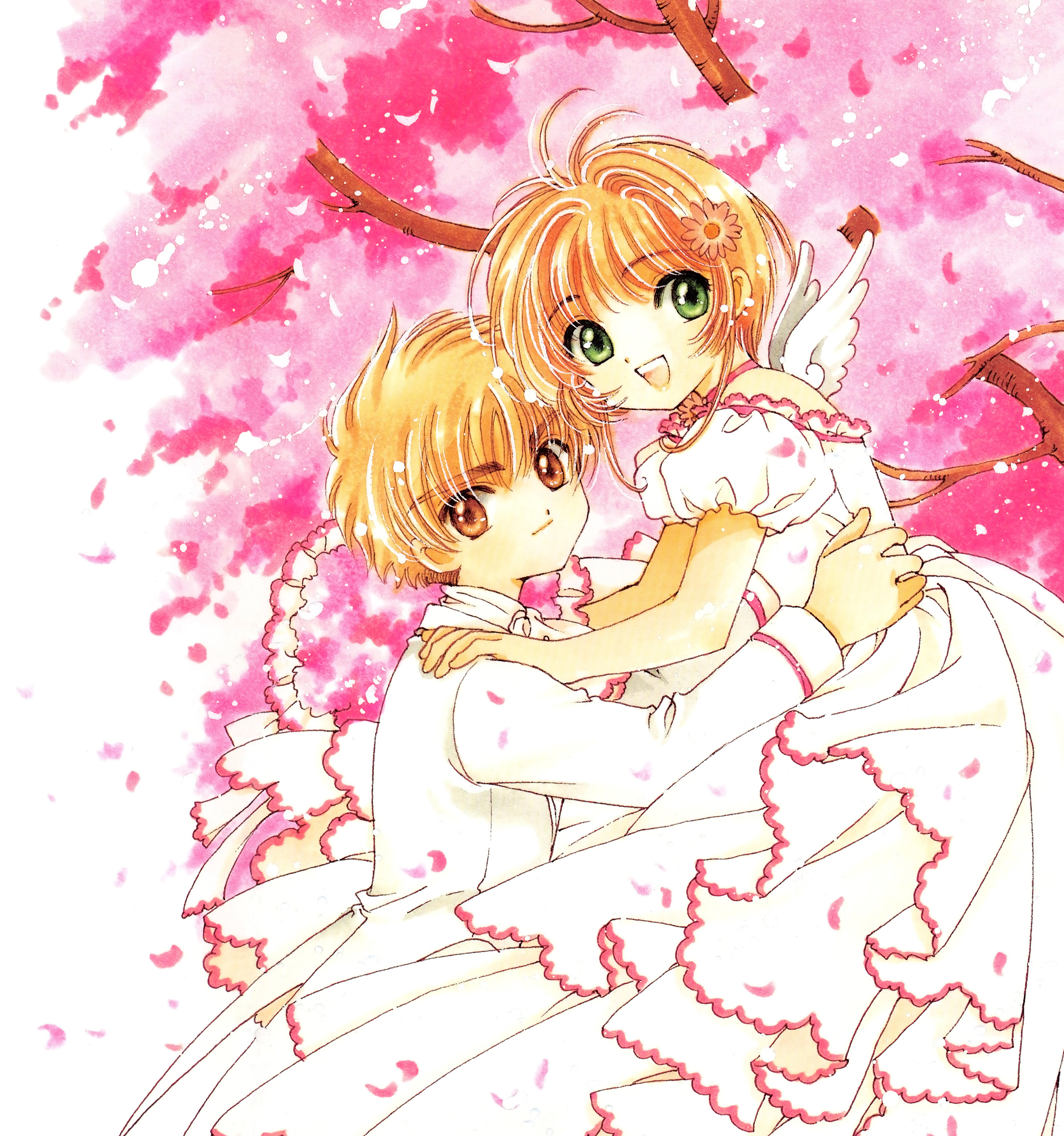 Sakura, Cardcaptor Sakura Illustrations Collection 3, Kinomoto Sakura