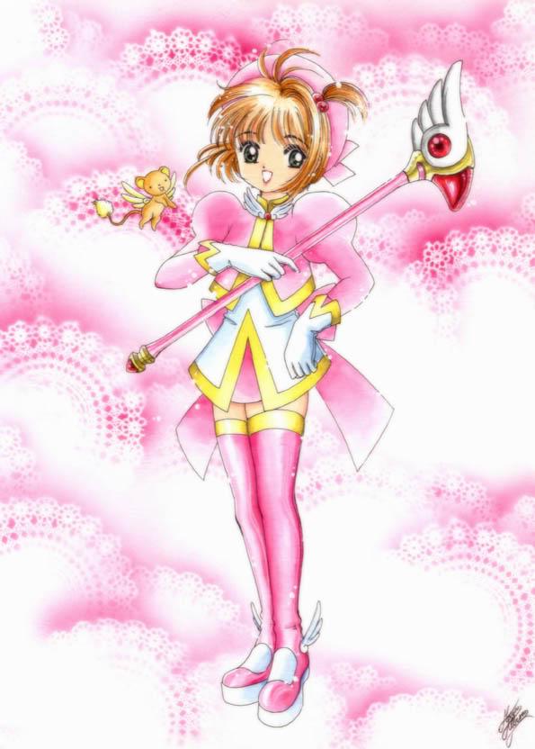 Tags: Anime, Cardcaptor Sakura, Kero-chan, Kinomoto Sakura