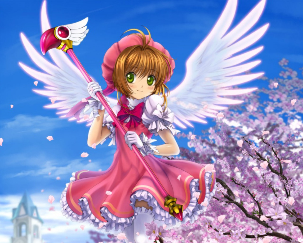 cardcaptor sakura wand how to make