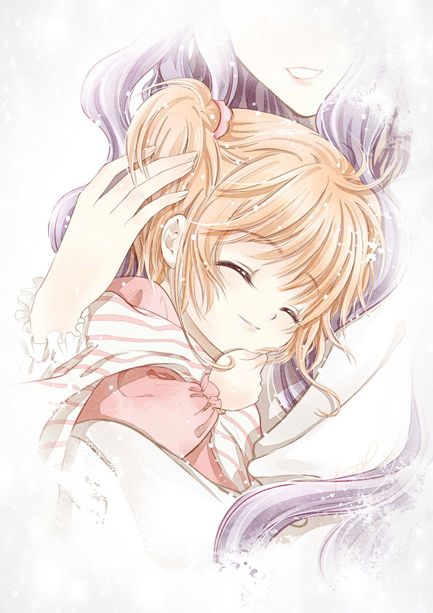 Tags: Anime, Pixiv Id 4009457, Cardcaptor Sakura, Kinomoto Nadeshiko, Kinomoto Sakura, Pixiv, Mobile Wallpaper, Fanart, Fanart From Pixiv