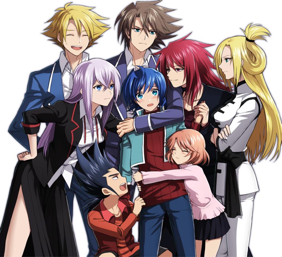 G Anime Character : Cardfight vanguard fanart zerochan anime image board