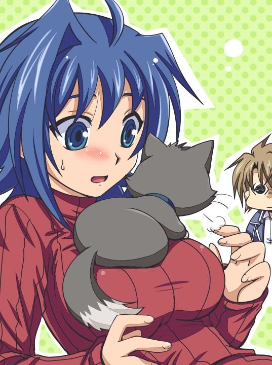 Tags: Anime, Akari Seisuke, Cardfight!! Vanguard, Kai Toshiki, Sendou Aichi, Tenchou Dairi, Fanart, Pixiv