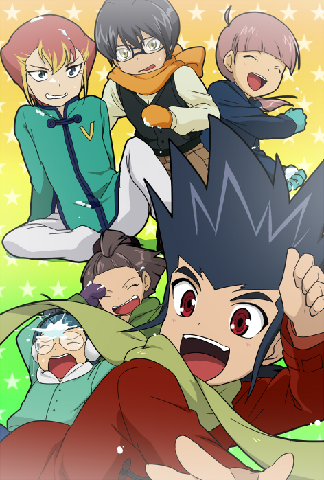Tags: Anime, Huryusyou, Cardfight!! Vanguard, Uno Reiji, Lee Shenlong, Katsuragi Kamui, Christopher Lo, Saga Eiji, Pajeel Ali, Pixiv, Fanart, Team S.I.T. Genius