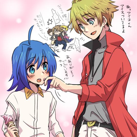 Tags: Anime, Tani (Pixiv 446857), Cardfight!! Vanguard, Izaki Yuuta