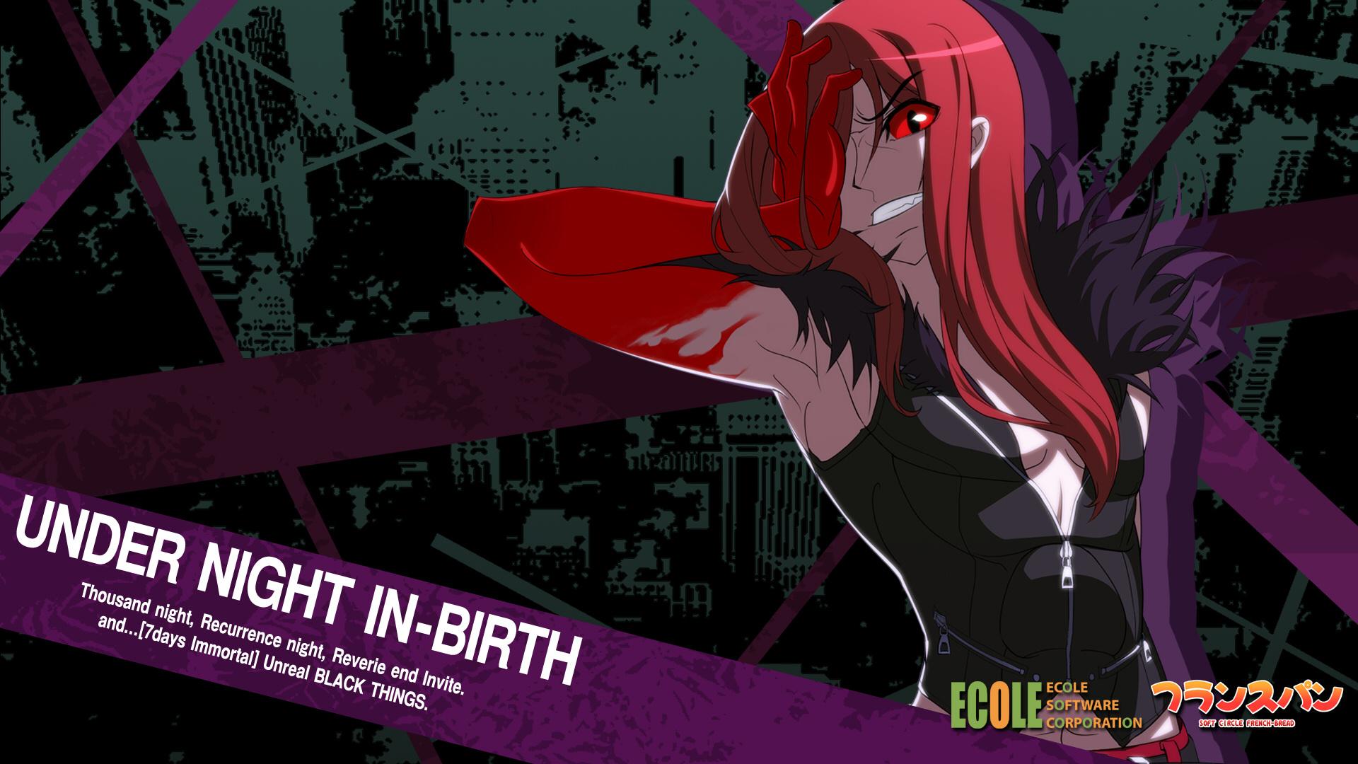 Carmine Under Night In Birth Hd Wallpaper 1241829 Zerochan