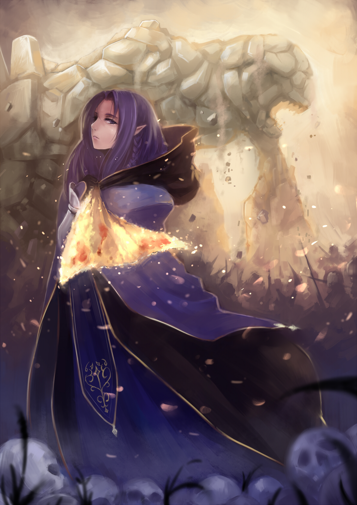 Caster  Fate  Stay Night   Fanart