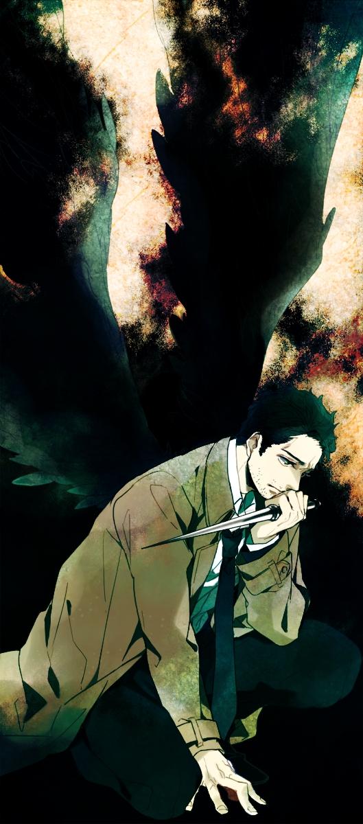 Tags: Anime, Pixiv Id 343894, Supernatural, Castiel, Pixiv, Fanart, Fanart From Pixiv