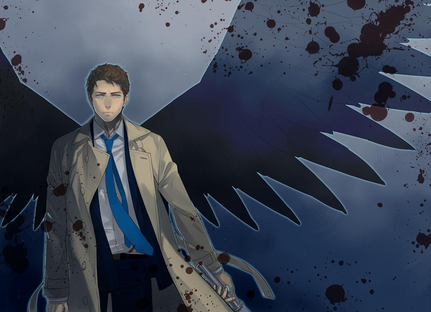 castiel supernatural image 1630685 zerochan anime