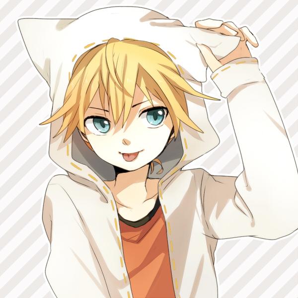 Tags: Anime, Tama Songe, VOCALOID, Kagamine Len, Pixiv, Catfood (VOCALOID)