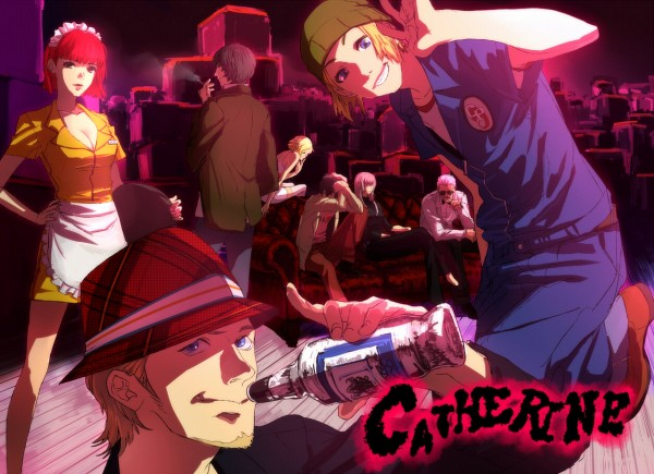Tags: Anime, Atlus, Catherine, Vincent Brooks, Erica Anderson, Catherine (Character), Katherine McBride